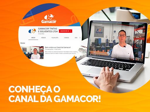 Conheça o Canal da Gamacor!