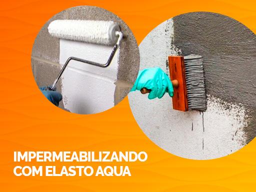 Impermeabilizando com Elasto Aqua